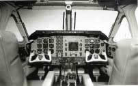 Beechcraft King Air 100 cockpit