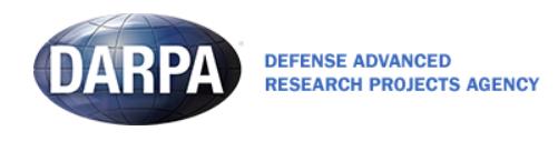 DARPA banner